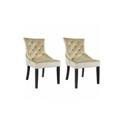Leibowitz Side Chair Color: Soft Beige
