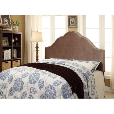 Laubach Upholstered Panel Headboard Size: King, Upholstery: Chrome
