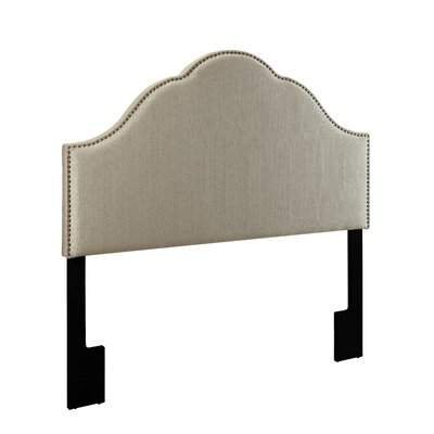 Laubach Arch Upholstered Panel Headboard Size: Queen