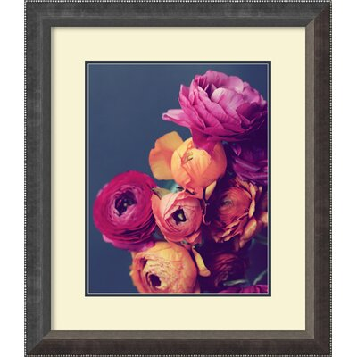 Deep Blooms Framed Photographic Print
