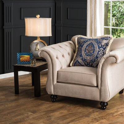 Winsford Premium Armchair Color: Light Mocha