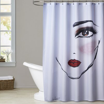 Janie MaybellineNY LoveforLust Shower Curtain
