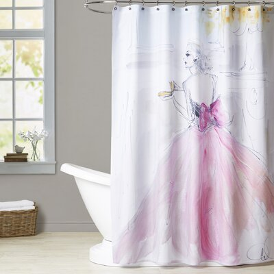 Annabesook Afternoon Tea Shower Curtain