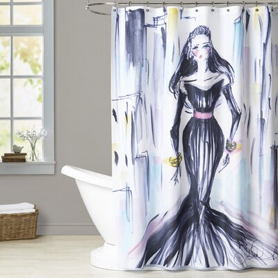 Zarah City Chic Shower Curtain