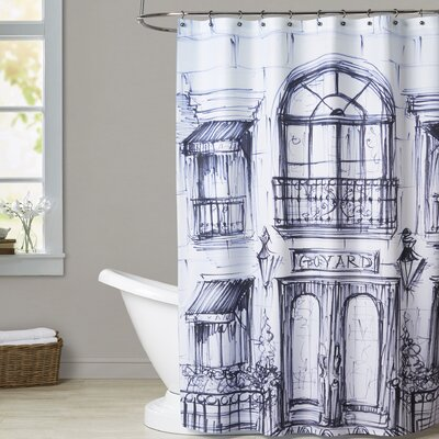 Williamson Window Shopping Shower Curtain