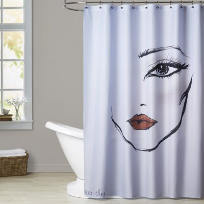 Greenville MaybellineNY NeoCleo Shower Curtain