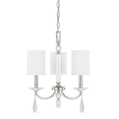 MacGraw 3-Light Shaded Chandelier
