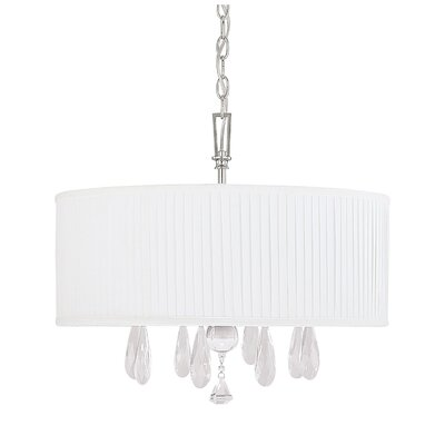 MacGraw 4-Light Drum Chandelier