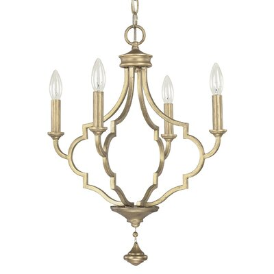 Ricco 4-Light Candle-Style Chandelier