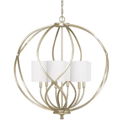 Cecil 6-Light Drum Pendant