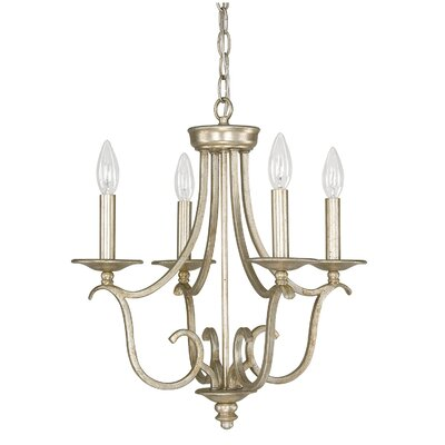 Cecil 4-Light Candle-Style Chandelier