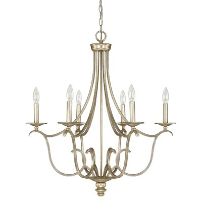 Cecil 6-Light Candle-Style Chandelier