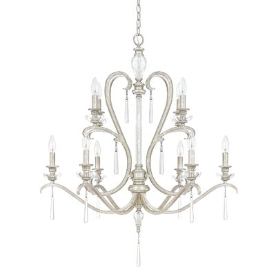 McCarey 10-Light Candle-Style Chandelier