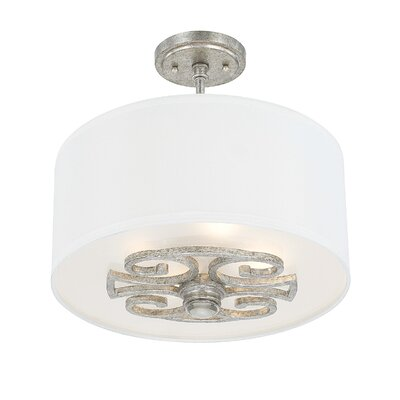 Newman 4-Light Semi-Flush Mount