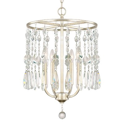 Nolan 4-Light Crystal Chandelier