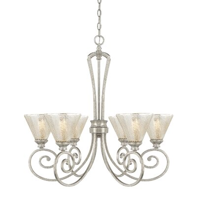 Newman 6-Light Shaded Chandelier