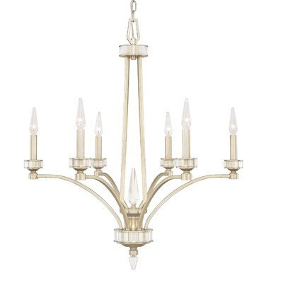 Peter 6-Light Candle-Style Chandelier