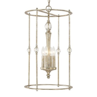 Quartz 4-Light Foyer Pendant
