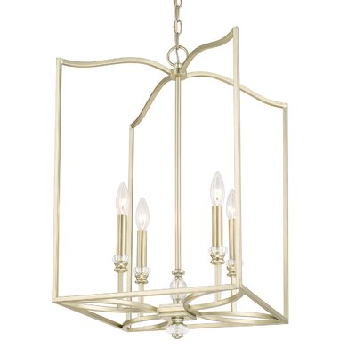 Saxon 4-Light Foyer Pendant