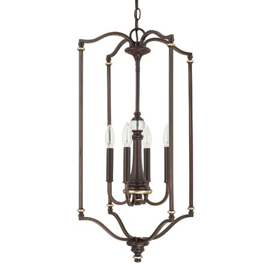 Mann 4-Light Foyer Pendant