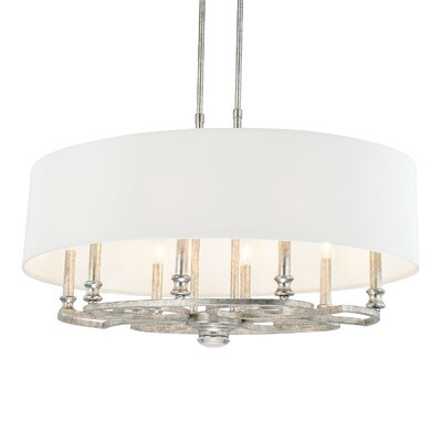 Newman 8-Light Drum Pendant