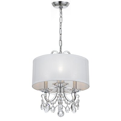 Roesler 3-Light Drum Chandelier