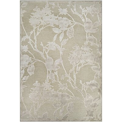 McNamara Antique Cream/Mushroom Area Rug Rug Size: Rectangle 53 x 76