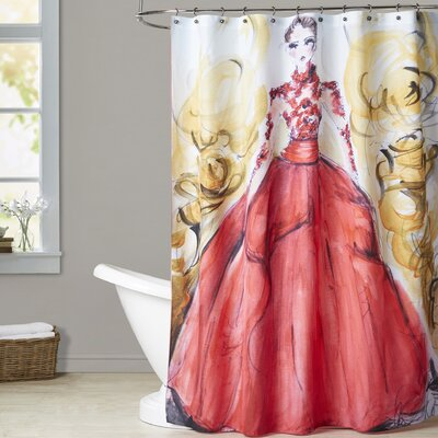 Cynthia Rose Gown Shower Curtain