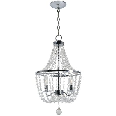 Wilt 2-Light Crystal Chandelier