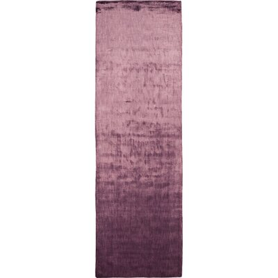 Moretz Plum Purple Area Rug Rug Size: Runner 26 x 8
