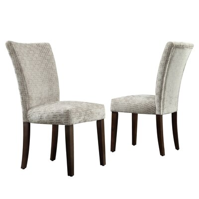 Reginald Link Print Parson Chair