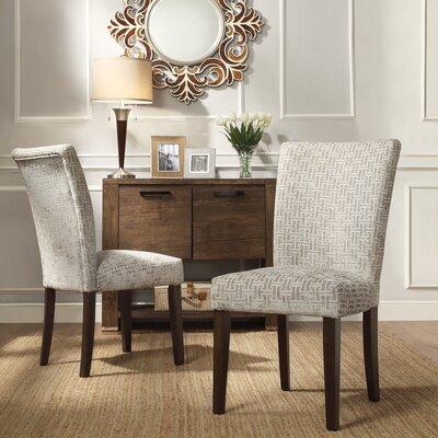 Sture Link Print Parson Chair