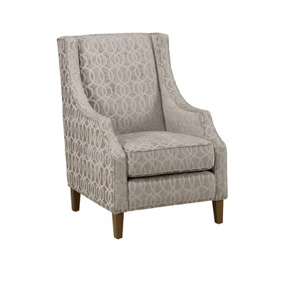 Rucker Wingback Chair Upholstery: Dove Grey