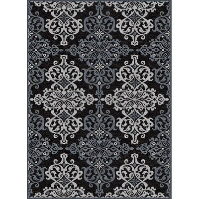 Hawkins Multi-Colored Area Rug Rug Size: 52 x 73