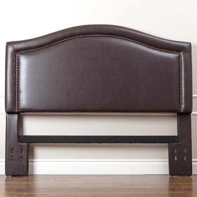 Hagen Upholstered Panel Headboard Size: Full/Queen