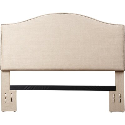 Pine Plains Upholstered Panel Headboard Size: Full/Queen
