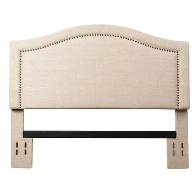 Hagen Upholstered Panel Headboard Size: Full/Queen