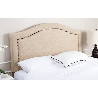 Pine Plains Upholstered Panel Headboard Size: King/California King