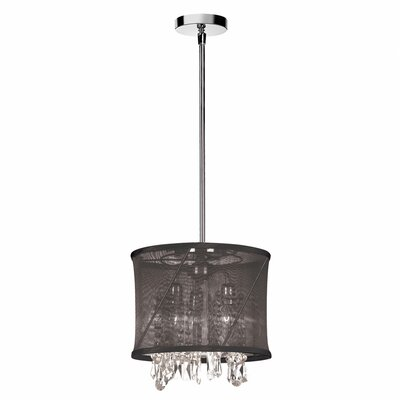 Hackford 3-Light Drum Pendant