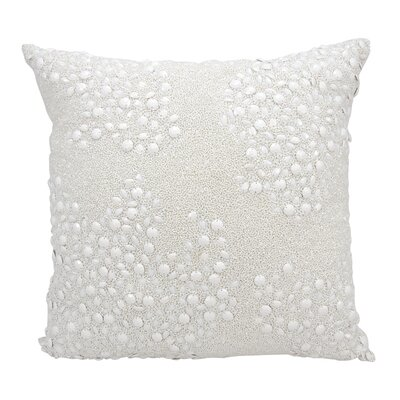 Hertzog Throw Pillow Color: White