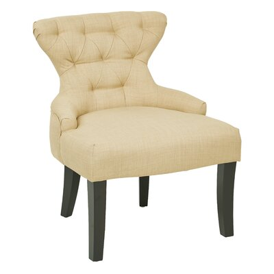 Elvie Upholstered Side Chair Upholstery: Marlow Maize Polyester