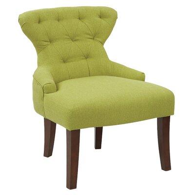 Feldman Upholstered Slipper Chair Upholstery: Niche Cactus Polyester