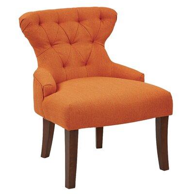 Feldman Upholstered Slipper Chair Upholstery: Niche Penny Polyester
