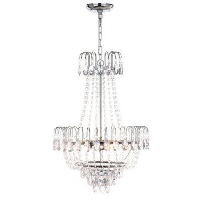Maxwell 3-Light Crystal Chandelier