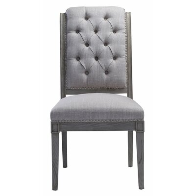 Burdinne Side Chair Finish: Beige