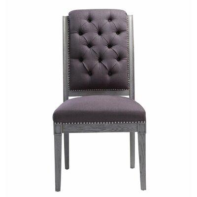 Djanira Side Chair (Set of 2) Finish: Gray
