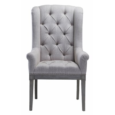 Djanira Arm Chair Finish: Beige