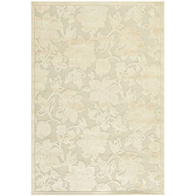 Maspeth Creme Country & Floral Rug Rug Size: 53 x 76