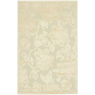 Maspeth Creme Country & Floral Rug Rug Size: Rectangle 27 x 4