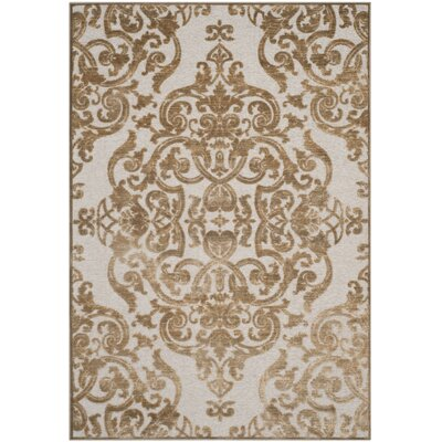 Maspeth Contemporary Area Rug Rug Size: 53 x 76